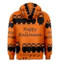 Happy Halloween - owls Men s Zipper Hoodie View2