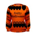 Happy Halloween - owls Women s Sweatshirt View1