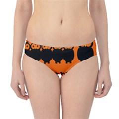 Happy Halloween - owls Hipster Bikini Bottoms