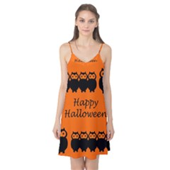 Happy Halloween   Owls Camis Nightgown