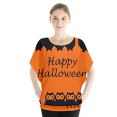 Happy Halloween - owls Blouse