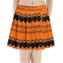 Happy Halloween - owls Pleated Mini Skirt View1