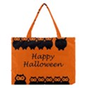 Happy Halloween - owls Medium Tote Bag View1