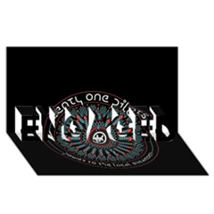 Twenty One Pilots Engaged 3d Greeting Card (8x4) by Onesevenart