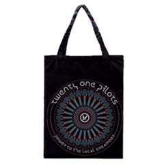 Twenty One Pilots Classic Tote Bag by Onesevenart