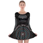 Twenty One Pilots Long Sleeve Skater Dress