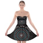 Twenty One Pilots Strapless Bra Top Dress