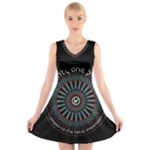 Twenty One Pilots V-Neck Sleeveless Skater Dress