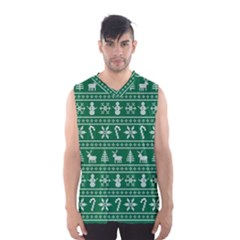 Ugly Christmas Men s Basketball Tank Top by Onesevenart