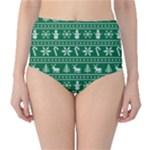 Ugly Christmas High-Waist Bikini Bottoms