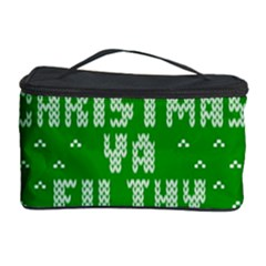 Ugly Christmas Ya Filthy Animal Cosmetic Storage Case by Onesevenart