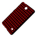 Lumberjack Plaid Fabric Pattern Red Black Samsung Galaxy Tab 4 (8 ) Hardshell Case  View4