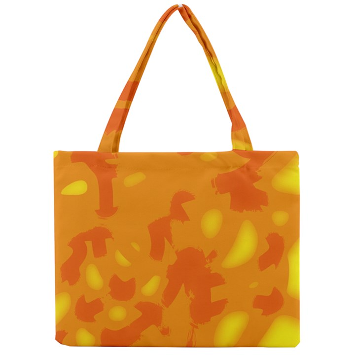 Orange decor Mini Tote Bag