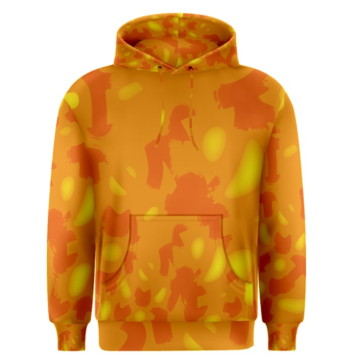 Orange decor Men s Pullover Hoodie
