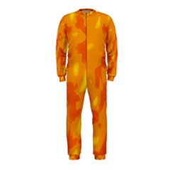 Orange Decor Onepiece Jumpsuit (kids)