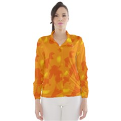 Orange Decor Wind Breaker (women)