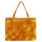 Orange decor Medium Zipper Tote Bag