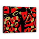 Red artistic design Canvas 16  x 12  View1