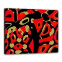 Red artistic design Canvas 20  x 16  View1