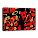 Red artistic design Canvas 18  x 12  View1