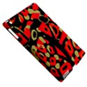 Red artistic design Apple iPad 3/4 Hardshell Case (Compatible with Smart Cover) View5