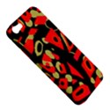 Red artistic design Apple iPhone 5 Hardshell Case View5