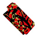 Red artistic design Apple iPhone 5 Hardshell Case (PC+Silicone) View5