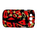 Red artistic design Samsung Galaxy S III Classic Hardshell Case (PC+Silicone) View1