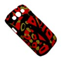 Red artistic design Samsung Galaxy S III Classic Hardshell Case (PC+Silicone) View5