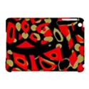 Red artistic design Apple iPad Mini Hardshell Case (Compatible with Smart Cover) View1