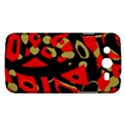 Red artistic design Samsung Galaxy Mega 5.8 I9152 Hardshell Case  View1