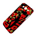 Red artistic design Samsung Galaxy Mega 5.8 I9152 Hardshell Case  View4