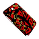 Red artistic design Samsung Galaxy Note 8.0 N5100 Hardshell Case  View5