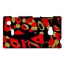 Red artistic design Nokia Lumia 720 View1