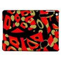 Red artistic design iPad Air Hardshell Cases View1