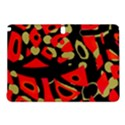Red artistic design Samsung Galaxy Tab Pro 10.1 Hardshell Case View1