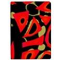 Red artistic design iPad Air Flip View1