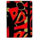 Red artistic design iPad Air Flip View2