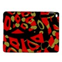 Red artistic design iPad Air 2 Hardshell Cases View1