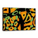 Abstract animal print Canvas 18  x 12  View1