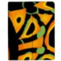 Abstract animal print Apple iPad 2 Flip Case View1