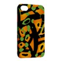 Abstract animal print Apple iPhone 4/4S Hardshell Case with Stand View2