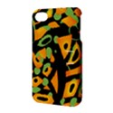 Abstract animal print Apple iPhone 4/4S Hardshell Case with Stand View3