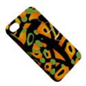 Abstract animal print Apple iPhone 4/4S Hardshell Case with Stand View5