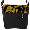 Abstract animal print Flap Messenger Bag (S) View1
