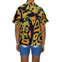 Abstract animal print Kids  Short Sleeve Swimwear View2