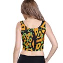 Abstract animal print Crop Top View3
