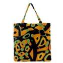 Abstract animal print Grocery Tote Bag View1