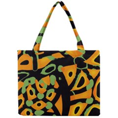 Abstract Animal Print Mini Tote Bag