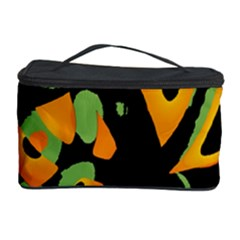 Abstract Animal Print Cosmetic Storage Case